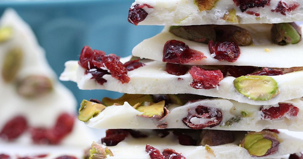 Chocolate Bark Recipe - Bella Viva Orchards