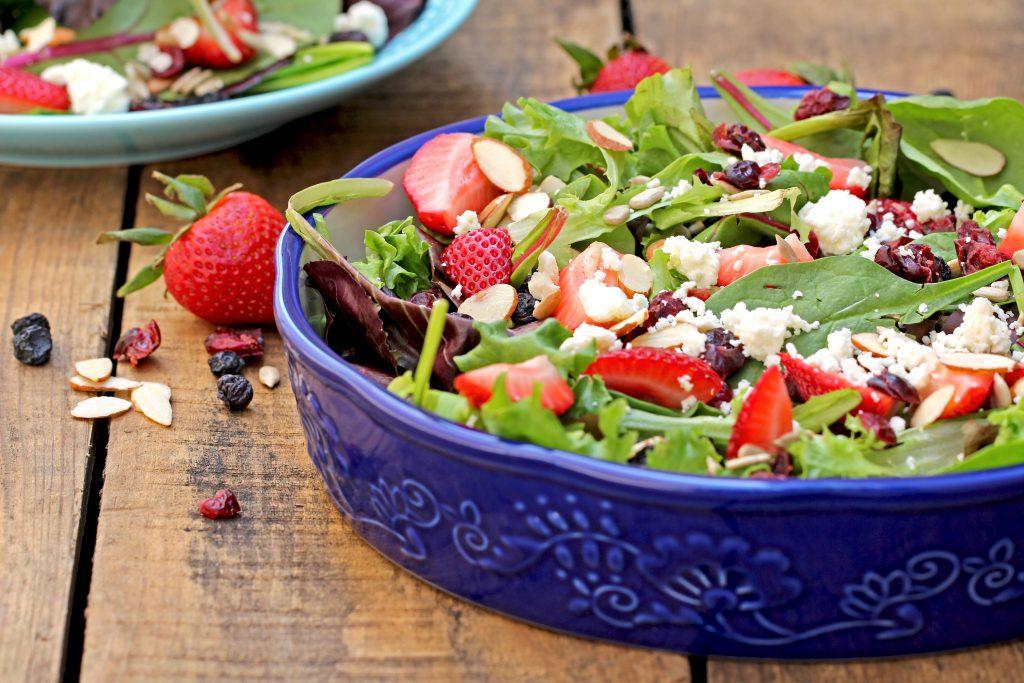 Spring Salad Recipe - Bella Viva Orchards