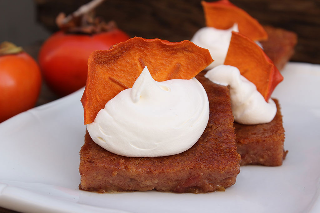 Persimmon Pudding Recipe - Bella Viva Orchards