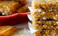 Organic Dried Mango & Pineapple Energy Bars - Bella Viva Orcharsds