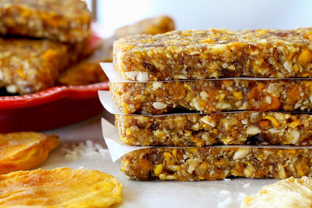Tropical Energy Bar Recipe - Bella Viva Orchards