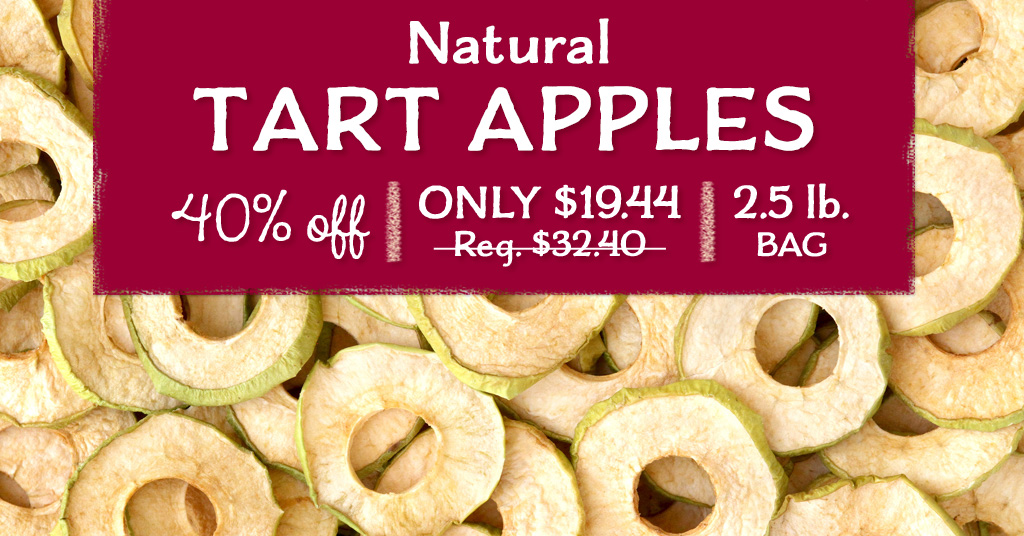 Natural Tart Apples