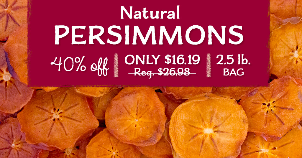 Natural Dried Persimmons