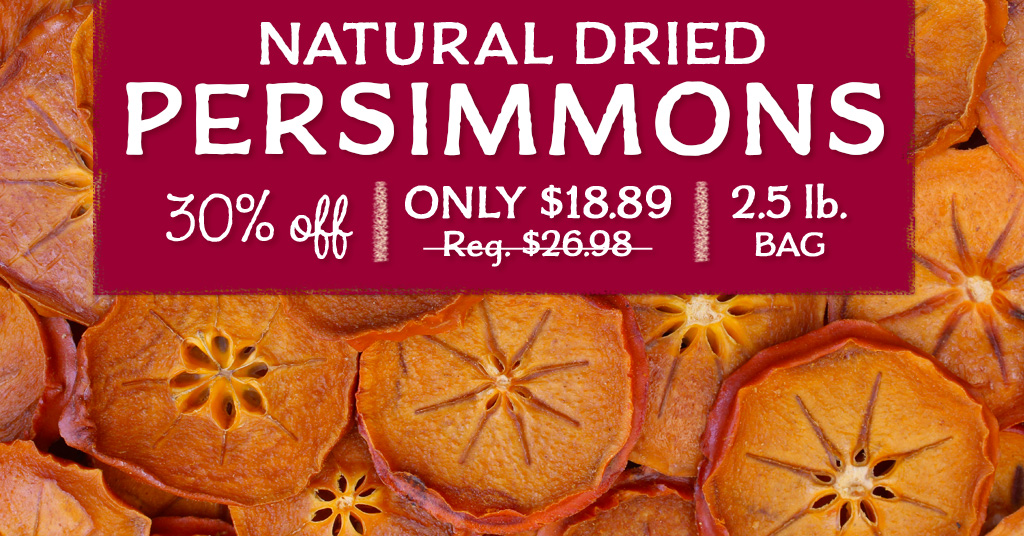 Dried Persimmons Special